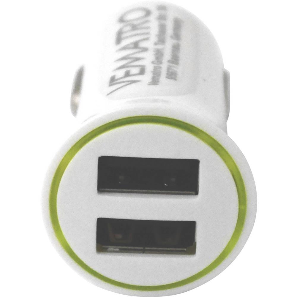 Vematro CCUSB324 12 V til 5 V 2.4 A USB-tilslutning