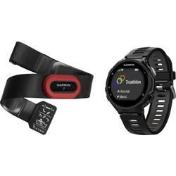 GPS ura z merilnikom srčnega utripa in priloženim prsnim trakom Forerunner 735XT Bluetooth črna, siva