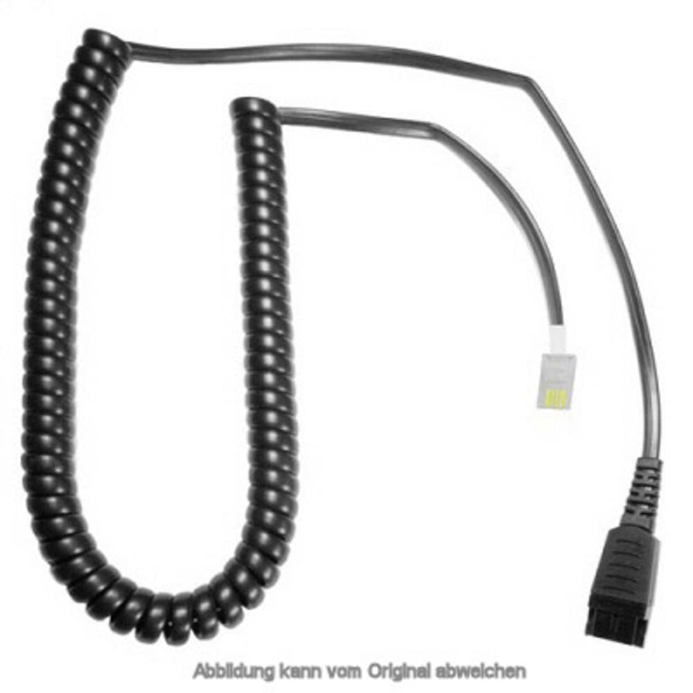 Kabel za telefonsku slušalicu s mikrofonom AK-1 PLX-QD Crna