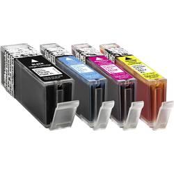Basetech kompatibilna kartuša za Canon PGI-550, CLI-551 kombinirano pakiranje črna, cian, magenta, rumena BTC89 1518,0050-126