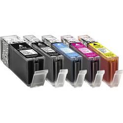 Basetech kompatibilna kartuša za Canon CLI-551 XL kombinirano pakiranje Photo črna, črna, cian, magenta, rumena 1519,0050-126