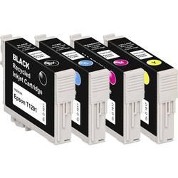 Basetech kompatibilna kartuša za Epson T1291, T1292, T1293, T1294 kombinirano pakiranje črna, cian, magenta, rumena BTE125 1617,