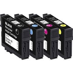 Basetech kompatibilna kartuša za Epson T1801, T1802, T1803, T1804, 18 kombinirano pakiranje črna, cian, magenta, rumena BTE158 1