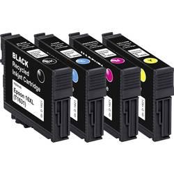 Basetech kompatibilna kartuša za Epson T1621, T1622, T1623, T1624, 16 kombinirano pakiranje črna, cian, magenta, rumena BTE154 1