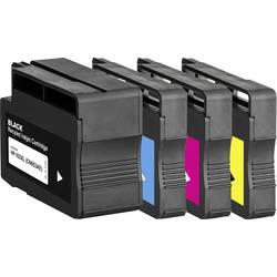 Basetech kompatibilna kartuša za HP 932, 932XL, 933XL kombinirano pakiranje črna, cian, magenta, rumena BTH174 1725,4005-126