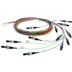 Telegärtner Steklena vlakna LWL Priključni kabel [1x Moški konektor ST - 1x Odprti konec kabla] 50/125 µ Multimode OM2 2 m