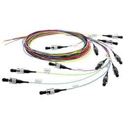 Telegärtner Steklena vlakna LWL Priključni kabel [1x Moški konektor SC - 1x Odprti konec kabla] 50/125 µ Multimode OM4 2 m