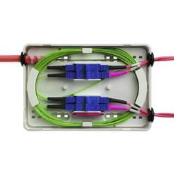 Škatla za spajanje optičnih vlaken SC Opremljen Telegärtner