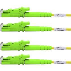 Telegärtner Steklena vlakna LWL Priključni kabel [1x Moški konektor E2000® - 1x Moški konektor E2000®] 9/125 µ Sin