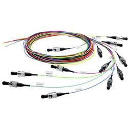 Telegärtner Steklena vlakna LWL Priključni kabel [1x Moški konektor LC - 1x Odprti konec kabla] 50/125 µ Multimode OM3 2 m
