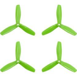 GEMFAN 3 rezila Komplet propelerjev za dirkalni kopter Radiusni 5 x 4.5  (12.7 x 11.4 cm) 5045 Master