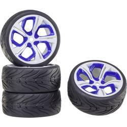 Reely 1:10 komplet koles za cestni model On-Road, 5-krakov, bele-modre barve 1 kos