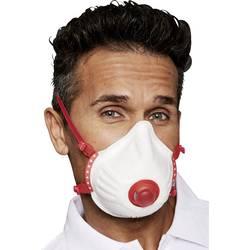 EKASTU Sekur Mandil 414 218 dihalna maska z ventilom FFP3 D 5 kos DIN EN 149:2001