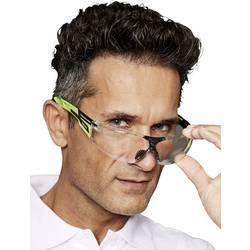 EKASTU Sekur 277 389 Zaščitna delovna očala Vklj. UV zaščita , Vklj. zaščita proti rošenju Zelena, Črna DIN EN 170, DIN EN 166-1