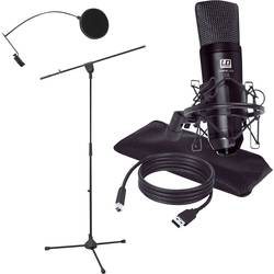 LD Systems PODCAST 2 usb studijski mikrofon Način prenosa:kabelska povezava vklj. kabel, vklj. stativ, vklj. torbica, vklj. zašč