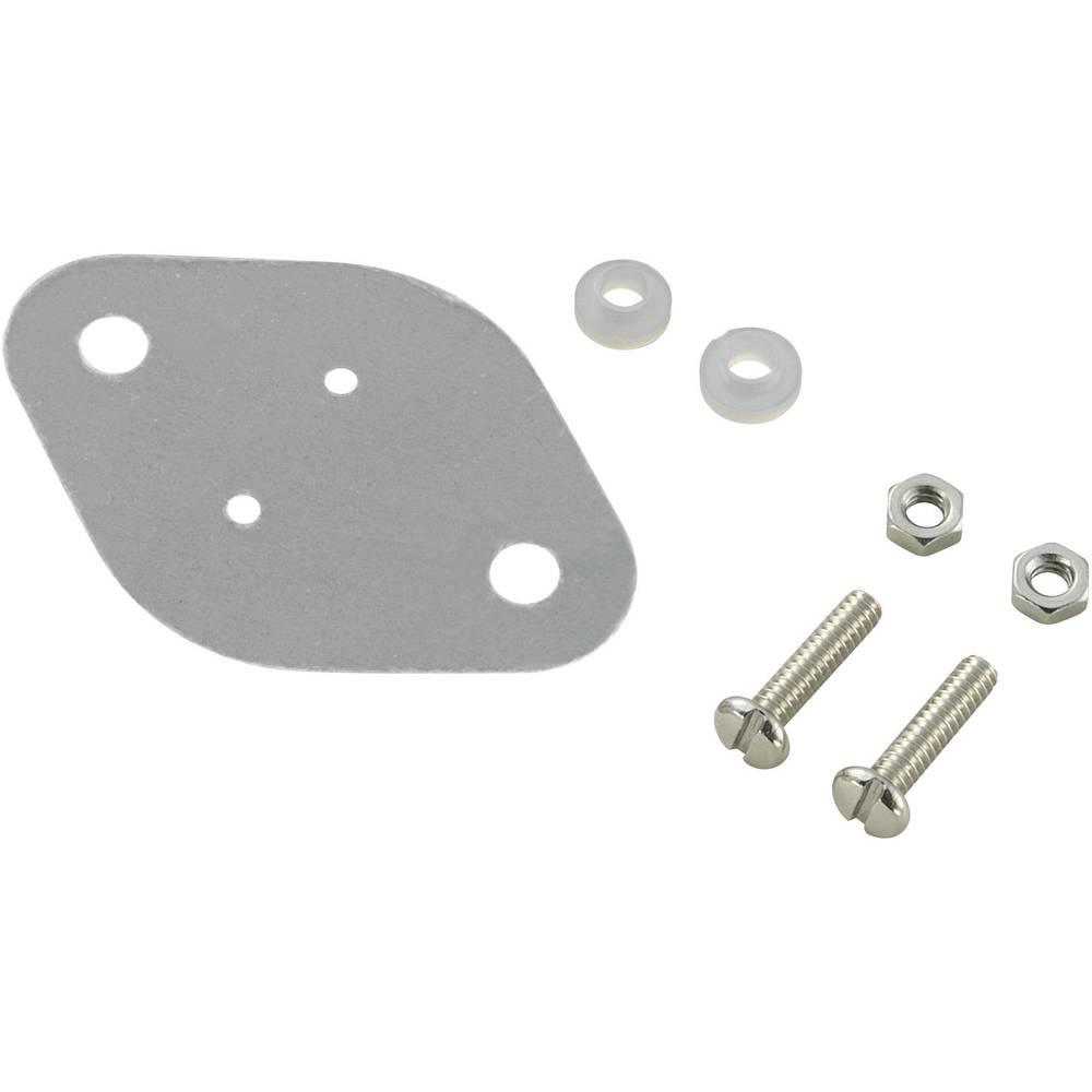 Set montažnega materiala za polprevodnike (D x Š) 42 mm x 30 mm primeren za TO-3 SCI A18-9C 1 set