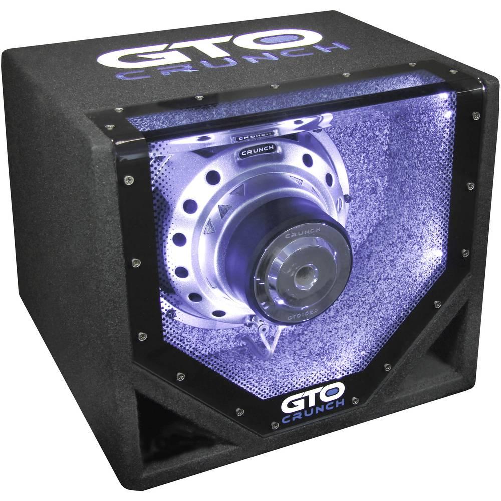 Crunch GTO-10BP pasivni avtomobilski globokotonec 600 W