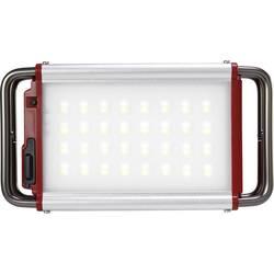 LED svjetiljka za kampiranje Polarlite Claymore Pro M pogon na akumulator, crvene, srebrne boje CLC-1100