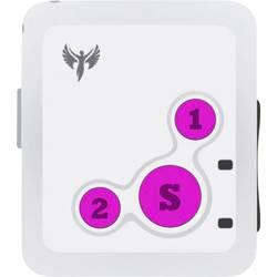 GPS Tracker Amparos S6 Persontracker, Multifunktionstracker Hvid-Pink