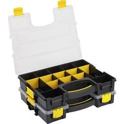 Låda (LxBxH) 370 x 286 x 140 mm Basetech Antal fack: 15 rörlig underavdelning
