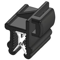 WKK 50097 Vezice 200 mm Črna Povezovanje kablov bočno na montažo, Toplotno stabilizirana, Vremensko stabilna 1 KOS