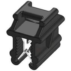 WKK 50098 Vezice 200 mm Črna Povezovanje kablov prečno na montažo, Toplotno stabilizirana, Vremensko stabilna 1 KOS
