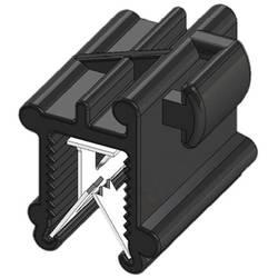 WKK 50131 Vezice 200 mm Črna Povezovanje kablov bočno na montažo, Toplotno stabilizirana, Vremensko stabilna 1 KOS
