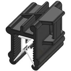 WKK 50128 Vezice 200 mm Črna Povezovanje kablov bočno na montažo, Toplotno stabilizirana, Vremensko stabilna 1 KOS