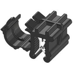 WKK ART005912 Robna sponka Natična Premer paketa (trdni)=4.50 mm Toplotno stabiliziran, Vezava kablov bočno na montažo Črna 1 KO