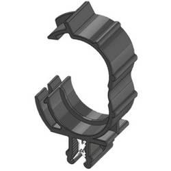 WKK ART005915 Robna sponka Natična Premer paketa (trdni)=17 mm Toplotno stabiliziran, Vezava kablov vzdolžno na montažo Črna 1 K