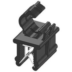 WKK ART005919 Robna sponka Natična Premer paketa (trdni)=4.50 mm Toplotno stabiliziran, Vezava kablov vzdolžno na montažo Črna 1
