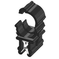 WKK ART005910 Robna sponka Natična Premer paketa (trdni)=7.50 mm Toplotno stabiliziran, Vezava kablov vzdolžno na montažo Črna 1