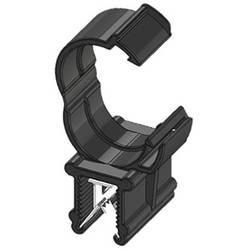 WKK ART005916 Robna sponka Natična Premer paketa (trdni)=13 mm Toplotno stabiliziran, Vezava kablov vzdolžno na montažo Črna 1 K