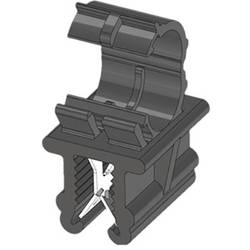 WKK ART005911 Robna sponka Natična Premer paketa (trdni)=4.50 mm Toplotno stabiliziran, Vezava kablov prečno na montažo Črna 1 K