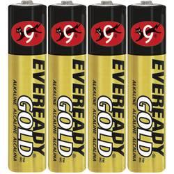 micro (AAA) baterija alkalno-manganov Eveready Gold 1.5 V 4 St.