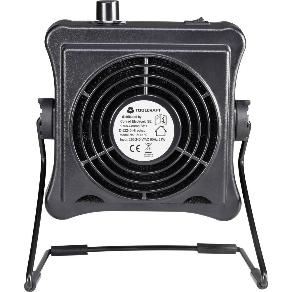 TOOLCRAFT Ekstrakcija slavine s ventilatorom 1553619 Razvijanje šuma (maks.) 45 dB (A)
