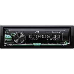 Bilradio JVC KD-X441DBT-ANT DAB+ tuner, inkl. DAB-antenne, Håndfrit Bluetooth®-system, Tilslutning til ratbetjening