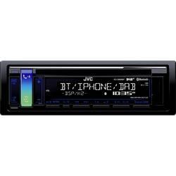 Bilradio JVC KDDB98-ANT DAB+ tuner, inkl. DAB-antenne, Håndfrit Bluetooth®-system, Tilslutning til ratbetjening