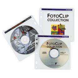 Hama cd ovitek 2 cd-jev/DVD-jev/Blu-ray polipropilen transparentno bela 40 kos (Š x V x G) 145 x 140 x 1 mm 00048444