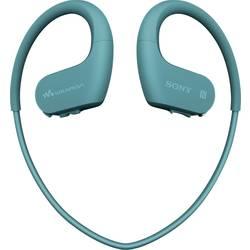 Sony NW-WS623 Bluetooth® Športne In Ear slušalke In Ear Mp3 predvajalnik, Zaščita pred znojenjem, Vodoodporne Modra