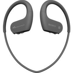 Sony NW-WS623 Bluetooth® Športne In Ear slušalke In Ear Mp3 predvajalnik, Zaščita pred znojenjem, Vodoodporne Črna