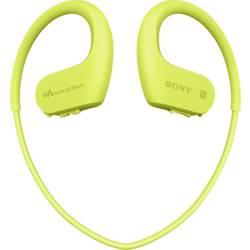 Sony NW-WS623 Bluetooth® Športne In Ear slušalke In Ear Mp3 predvajalnik, Zaščita pred znojenjem, Vodoodporne Rumena