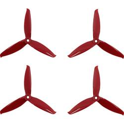 GEMFAN 3 rezila komplet propelerjev za dirkalni kopter normalen 5.1 x 5.2 palec (13 x 13.2 cm) 5152 Flash
