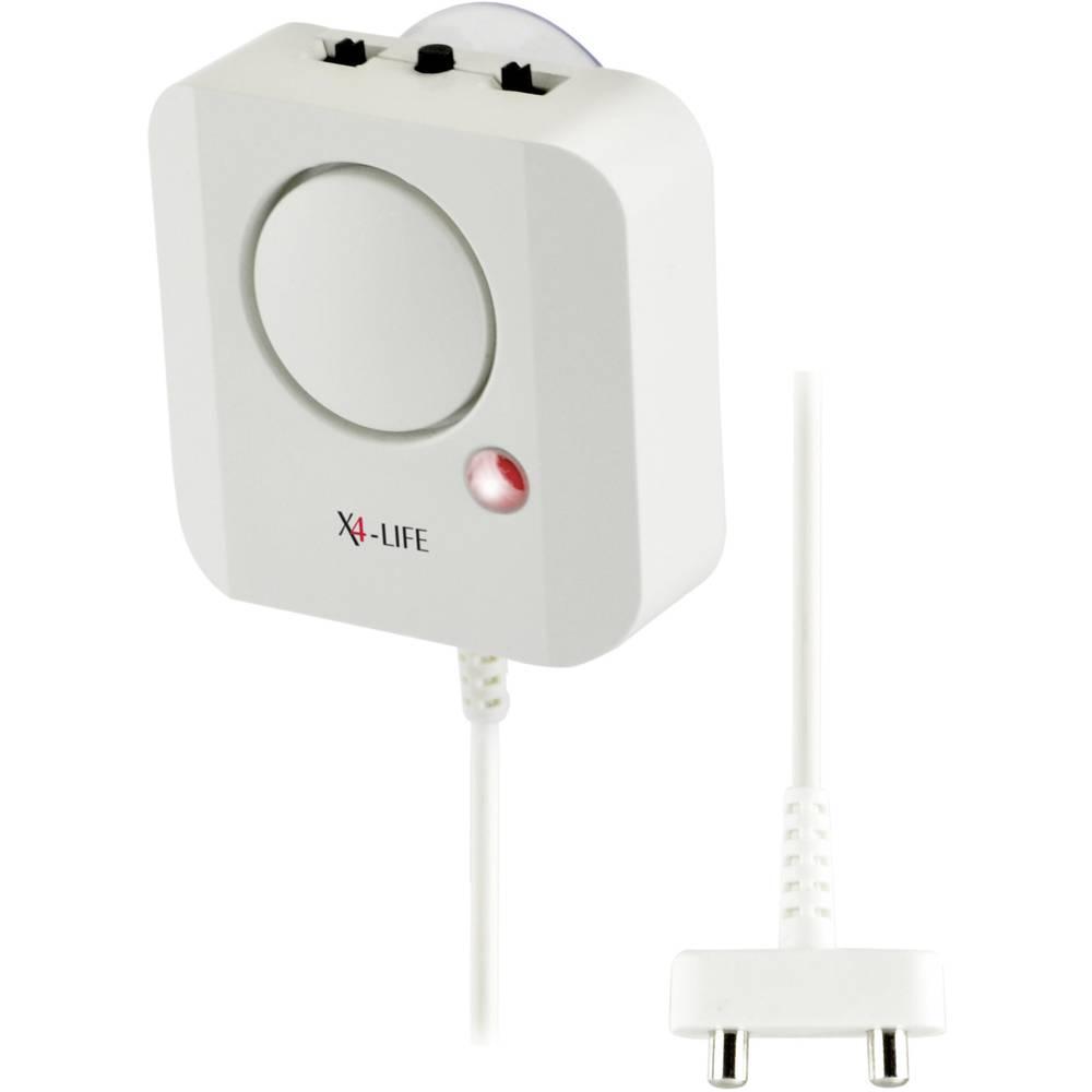 Detektor vode X4-LIFE 701564, z baterijskim napajanjem, življenjska dobe baterije: 10 let
