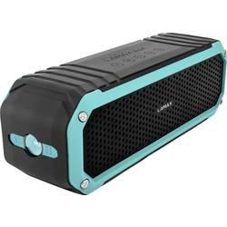 Lamax Sentinel SE-1 Bluetooth® zvočnik FM radio, Zaščita pred pršečo vodo, Odporen na prah, Zunanji zvočnik Črna, Turkizna