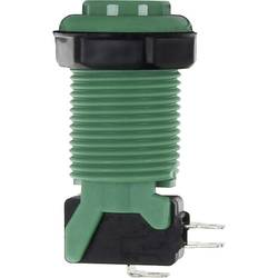 Inbyggnadsenhet Joy-it Arcade Bouton, Micro-interrupteur vert Grön