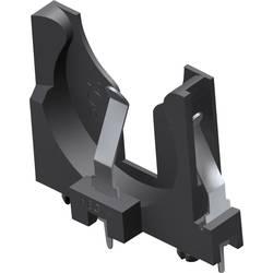 držač za gumbaste baterije 1 cr 2450 okomiti, montaža preko rupe tht (Š x V x d) 31.88 x 26.09 x 5.89 mm Keystone 1068