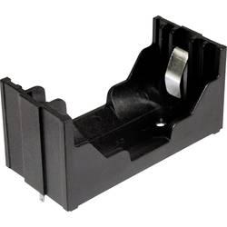 Baterije - držač 1x Mono (D) Lemni priključak (D x Š x V) 80 x 37 x 37 mm MPD BHD-2