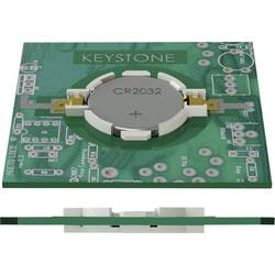 držač za gumbaste baterije 1 cr 2032 horizontalni, površinska montaža smd (D x Š x V) 33.15 x 23.93 x 5.21 mm Keystone 1057