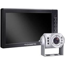 Kabelski video sistem za vzvratno vožnjo RVS764X M75LX+CAM604 Dometic Group vhodi za 3 kamere, linije za pomoč, avtomatski dnevn